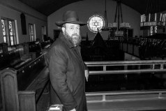 #48 Rabbi Brikman in his Synagogue