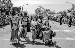#57 8 months after Super Storm Sandy .The iconic Mermaid Parade shows Coney Island is coming back