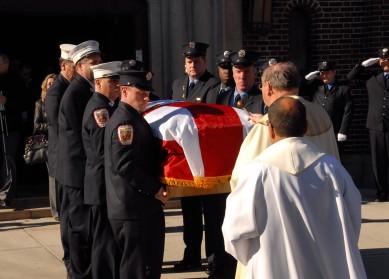 Coney Island: Firefigher Funeral